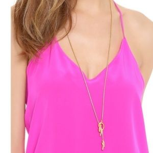"Madewell ""Knotshine"" Adjustable Gold Necklace"